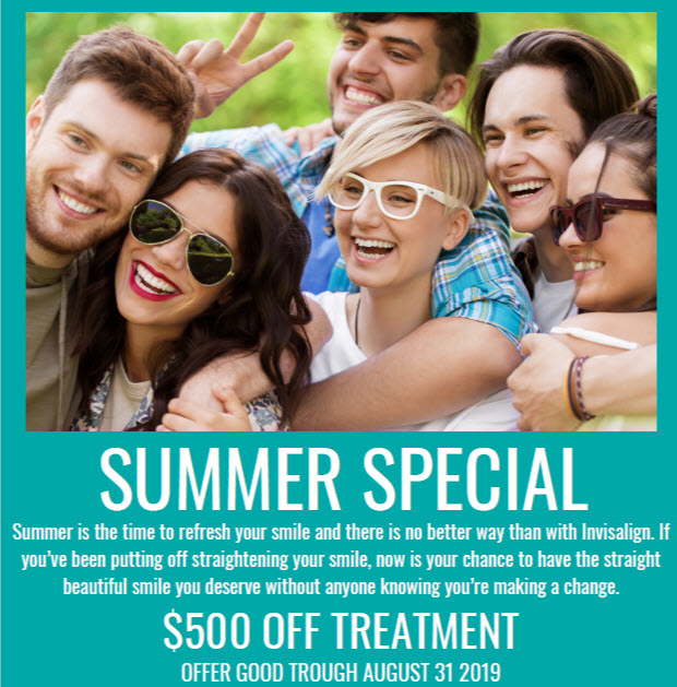 Summer Special Treatment Coupon by Remarkable Smiles
